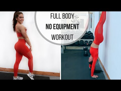 Full Body Workout With NO Equipment   Blast Fat