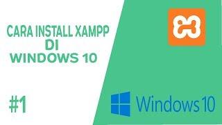 Gambar cover cara tutorial install xampp di windows 10 #1