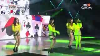 150128 EXID - 위아래 Up & Down (4th Gaon Chart KPOP AWARDS)