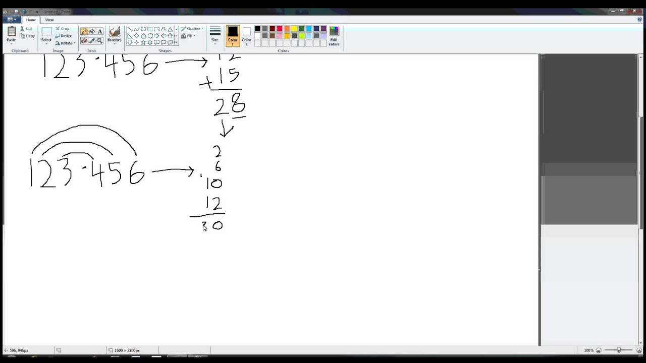 the walking rainbow method of multiplication youtube