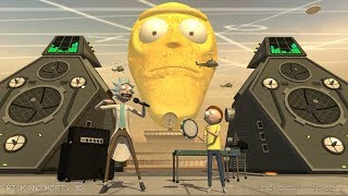 Rick and Morty Get Schwifty in 3D