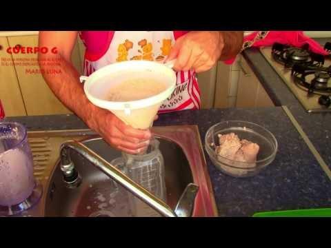 Paleoleche (leche de almendra y nuez)
