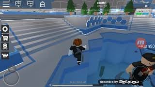Playing Silent assassin on Roblox