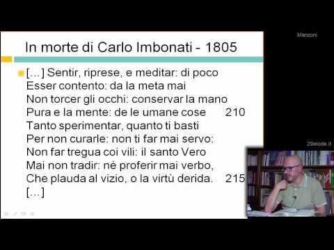 Alessandro Manzoni - Biografia - I primi anni - Videolezioni di Letteratura dellOttocento