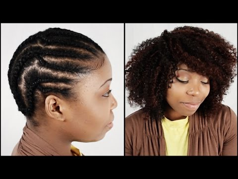 Crochet Braids START TO FINISH In 6 Minutes!!!