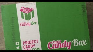 Project Candy Box unboxing June 2017