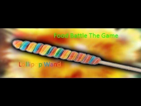 Food Battle The Game Lollipop Wand Youtube