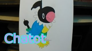 Chatot-Pokemon Drawing