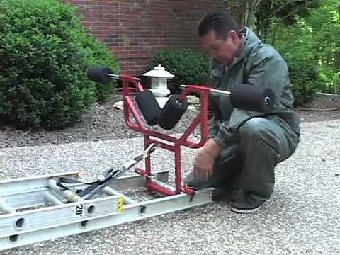 The Original Rolling Ladder Stabilizer Youtube