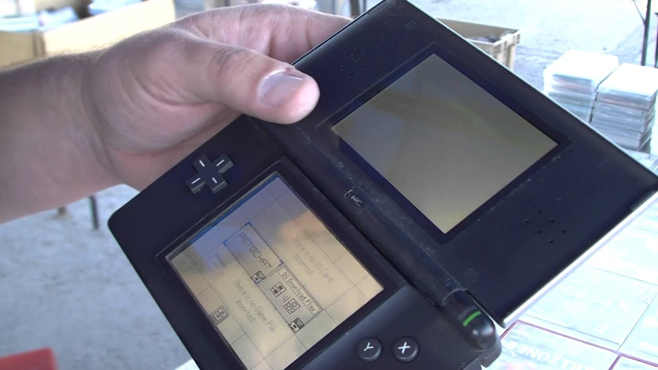 Salva Tu Nintendo Ds Lite Roto Youtube