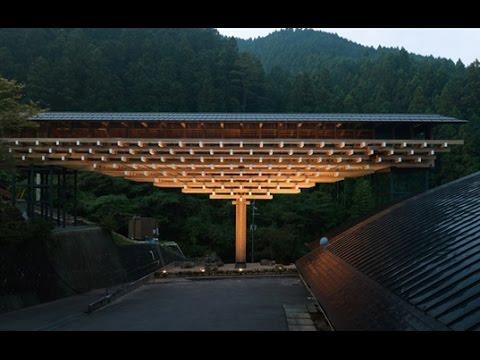 隈研吾與木構建築代表作 Kengo Kuma