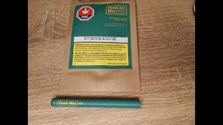 Tron's Kron: Kronic Quickie 2 - 48North Trail Mix Moonlight shadow Disposable thc vape pen review!