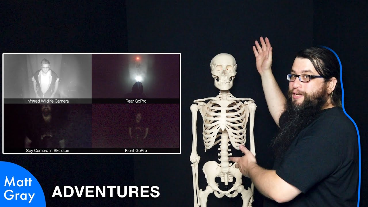 Youtube Thumbnail Image: Lie-Detecting Skeleton - Behind The Scenes