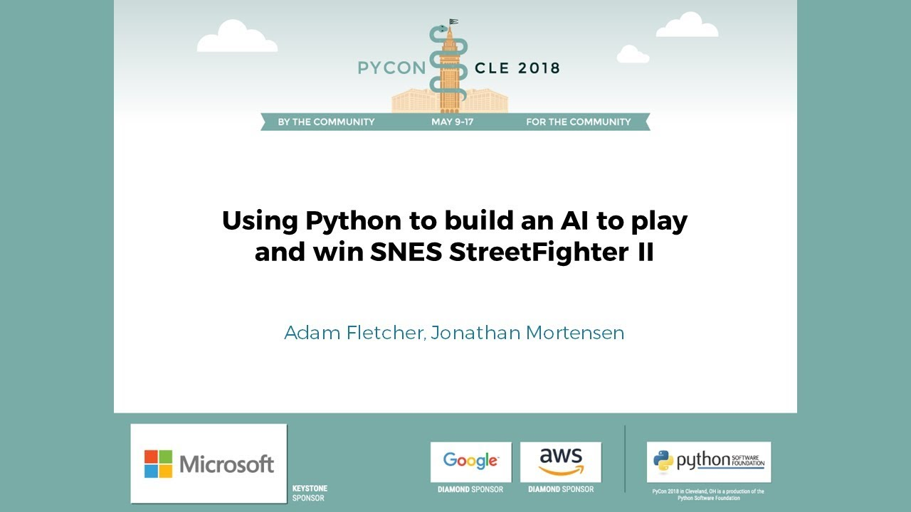 Image from Using Python to build an AI to play and win SNES StreetFighter II