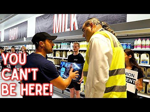 Vegans VS The Supermarket