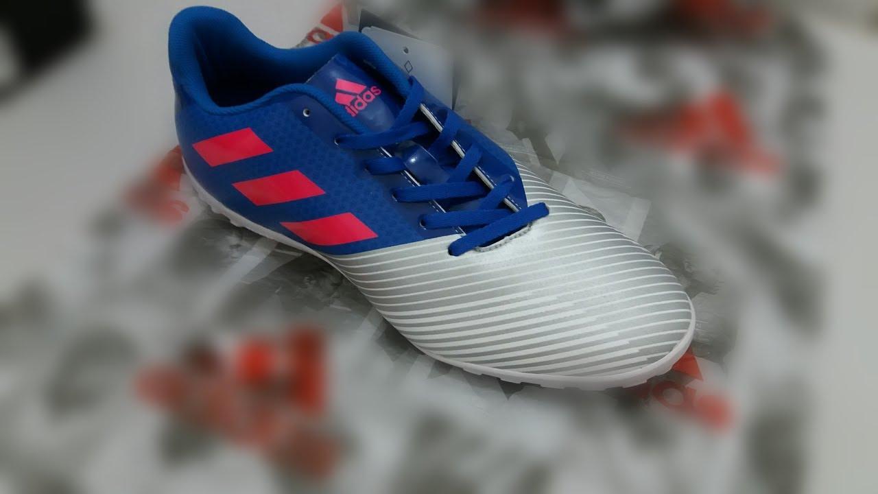 Unboxing chuteira society Adidas artilheira 17 TF - YouTube 9b037afa2908d