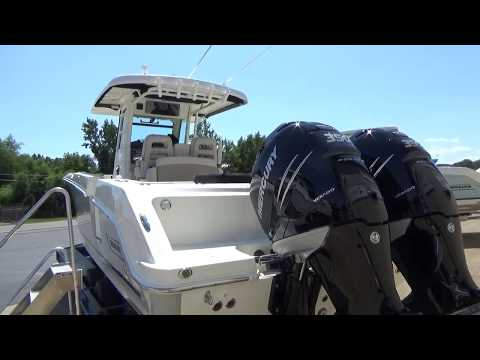 2018 Boston Whaler 330 Outrage, New Center Console For Sale In Sandusky, Ohio At Clemons Boats