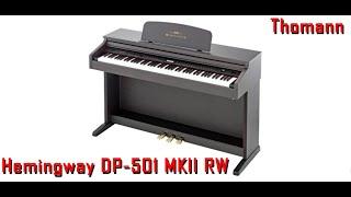 Como montar un piano thomann Hemingway dp-501