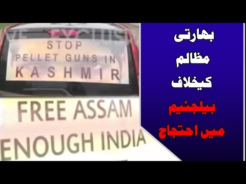Black Day in Kashmir: Protests in Belgium against India | 24 News HD