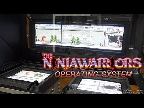 The operating system for [The Ninja Warriors] / ニンジャウォーリアーズ動作環境 / 닌자 워리어즈 동작 환경