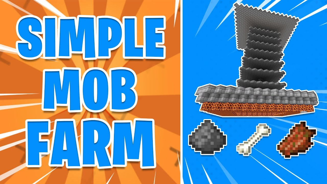 How to Build a Mob Farm In 1.16! - YouTube