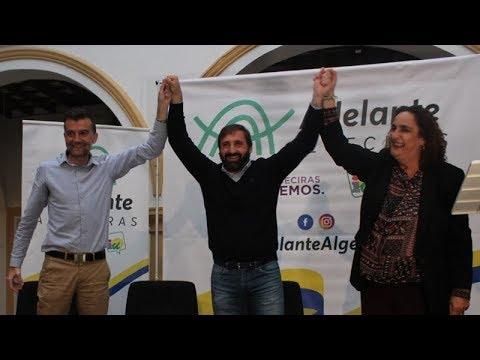 🎥 #ALGECIRAS Javi Viso presentado como candidato de Adelante Algeciras