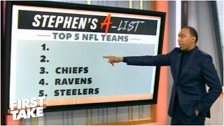 Stephen's A-List: Top 5 NFL teams following Week 6