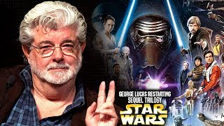 George Lucas Is Restarting The Sequel Trilogy! (Star Wars Explained)