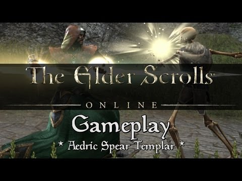 Elder Scrolls Online - Templar Gameplay (Aedric Spear)