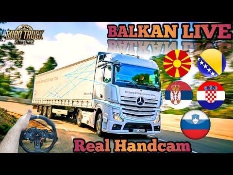 🔴🚛Euro Truck Simulator 2🔴🚛 - Ako bude Proradio MP igramo sa Vama /Giveaway u opisu /✔Road to 6k✔ from YouTube · Duration:  3 hours 30 minutes 30 seconds
