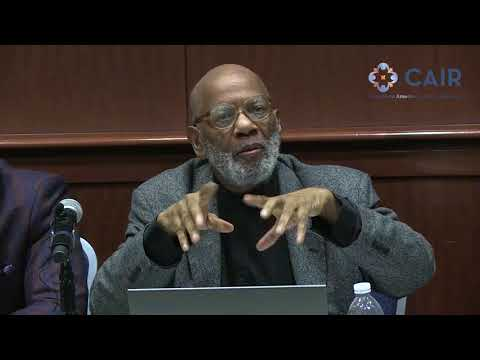 Video: CAIR Board Member Prof. James Jones Speaks at George Wash. U Panel on 'Blackness & Islam'