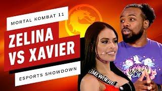 Mortal Kombat 11 - Xavier Woods VS Zelina Vega - Esports Showdown!