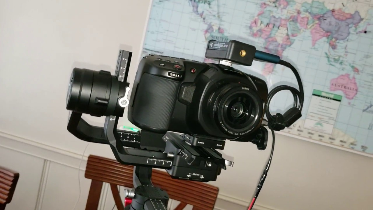 Bmpcc4k Ronin S Setup With Battery Pack And Battery Door Fixed Youtube