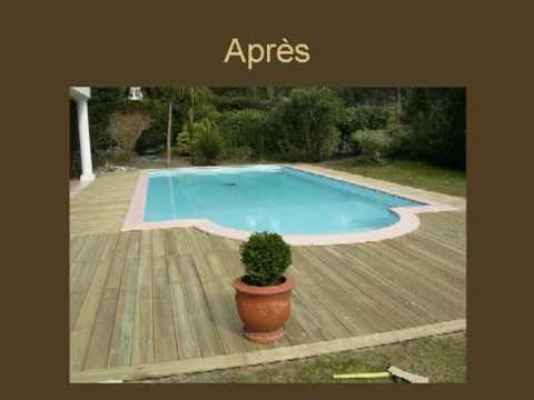 piscine bois montage facile youtube. Black Bedroom Furniture Sets. Home Design Ideas