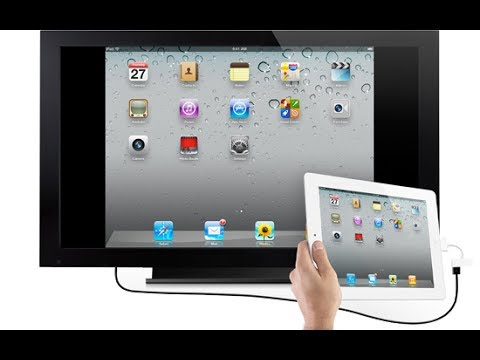Connecting Ipad To TV How Do I Connect My Ipad To My TV By Using