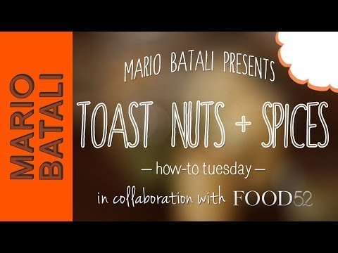 Video: How to Roast Nuts and Spices