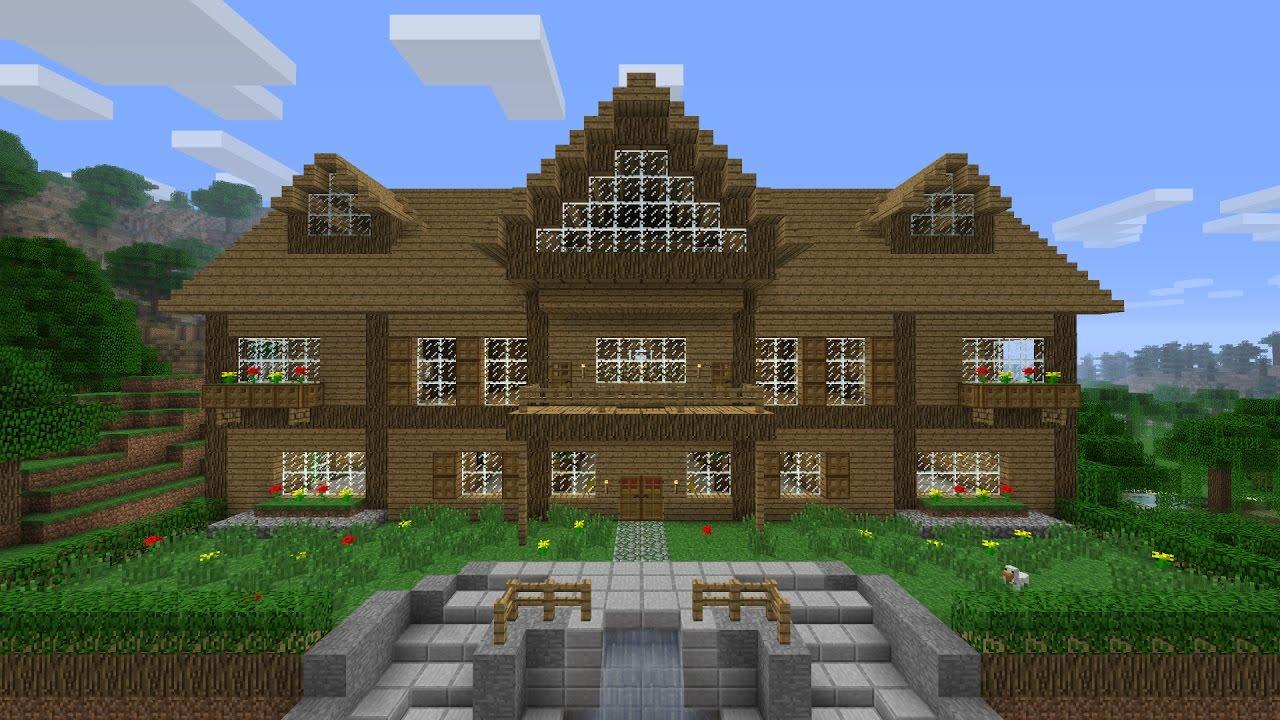 Tuto comment construire une maison rustique sur minecraft parti 1 les tuto de smoki youtube for Construction de maison sur minecraft