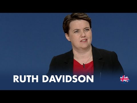Ruth Davidson: Speech to Conservative Party Conference 2014