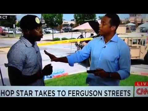 Talib kweli Argues with Cnn's Don lemon about media coverage