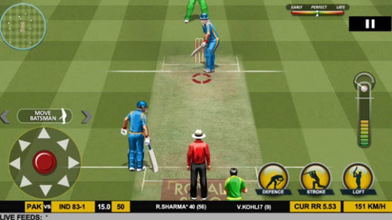 Real Cricket 2017 Gameplay #1- India vs Pakistan Champions League