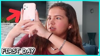 MY FIRST DAY WITH THE New iPhone  11 PRO📲 | SISTERFOREVERVLOGS #600