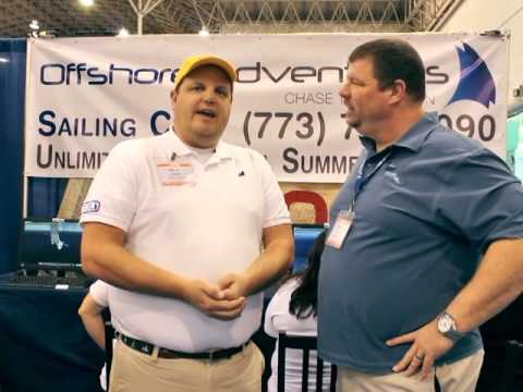 Offshore Adventures at The 2014 Chicago Strictly Sail Boat Show