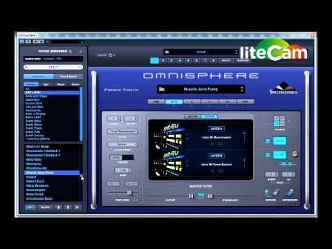 Omnisphere 2 Patch Demo all EDM Spotlight ARP amd BPM section