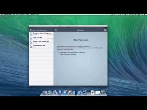 Share Visio Drawings Between Mac and iPad