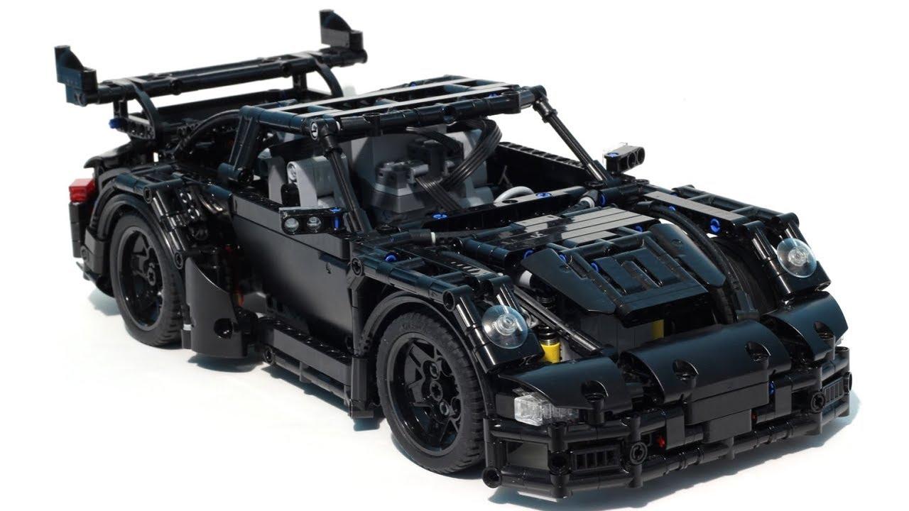 lego technic porsche 911 gt3 rs moc youtube. Black Bedroom Furniture Sets. Home Design Ideas