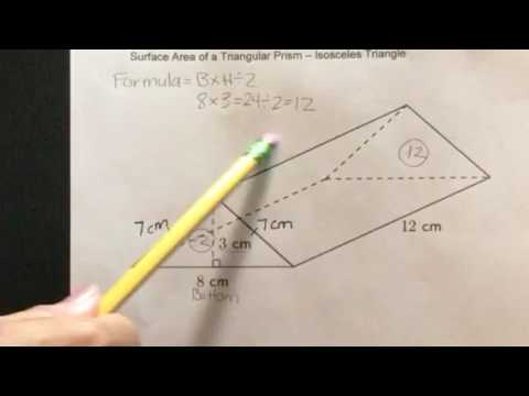how to get the voulme of triangular prism