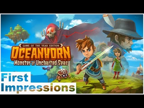 OCEANHORN: MONSTER OF UNCHARTED SEAS | First Impressions