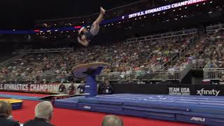 Brennan Pantazis - Vault – 2019 U.S. Gymnastics Championships – Senior Men Day 2