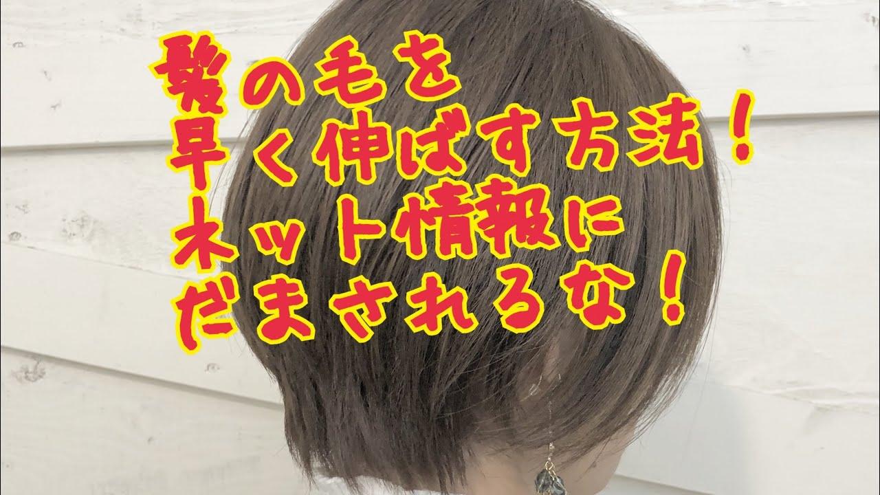 髪 を 早く 伸ばす