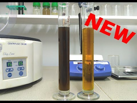 Used black oil regeneration/bleaching